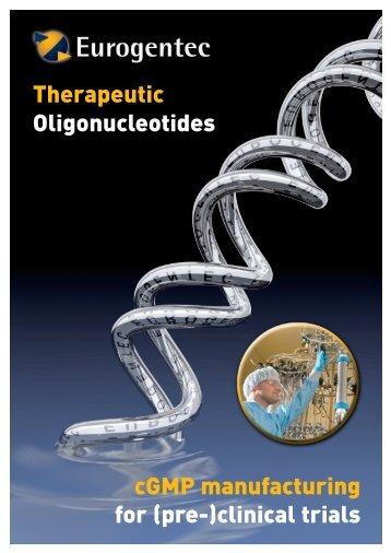 cGMP manufacturing for (pre-)clinical trials ... - Eurogentec