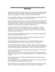 List of publications - Eurogentec