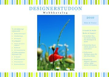 Designerstudion Katalog