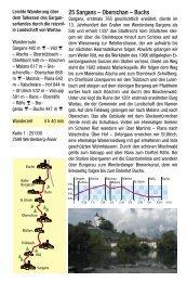 Oberschan – Buchs - St. Galler Wanderwege