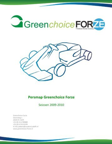 Persmap Greenchoice Forze - Forze – Hydrogen Racing Team Delft ...