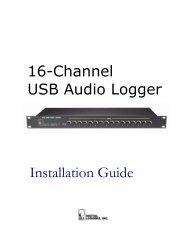 16-Channel USB Audio Logger Installation Guide - Digital Loggers