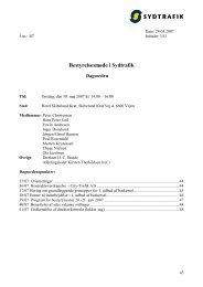 39/07 Program for bestyrelsestur 20.-21. juni 2007 - Sydtrafik