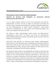 Breuckmann scannt türkischen Hadrianstempel - PR Portal