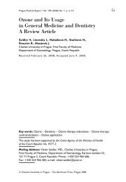 Ozone and Its Usage in General Medicine and Dentistry A Review ...