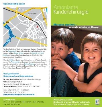 Flyer (PDF) - kinderchirurgie-bonn-zentrum.de