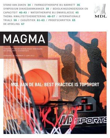Nr. 2 jrg 18 (juni 2012) - Genootschap van Maag-Darm-Leverartsen