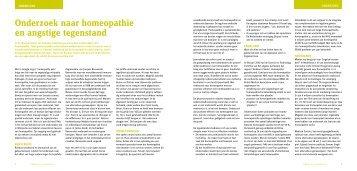 Lees meer - Koninklijke Vereniging Homeopathie Nederland