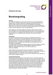 Borstvergroting - Streekziekenhuis Koningin Beatrix