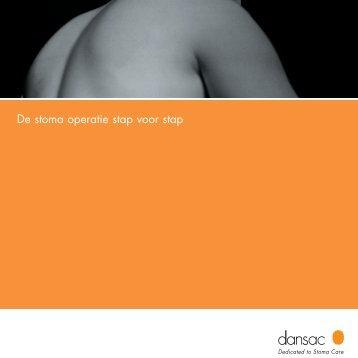 De stoma operatie stap voor stap - Dansac