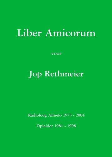 Liber Amicorum.pdf - Nederlandse Vereniging voor Radiologie