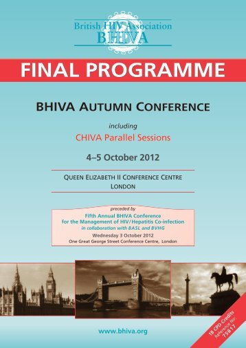 FINAL PROGRAMME - The Children's HIV Association