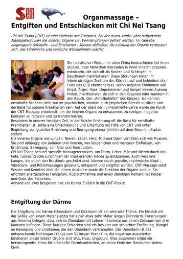 Entgiften und Entschlacken mit Chi Nei Tsang - Tao Berlin
