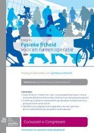 PDF info - Cursussen & Congressen