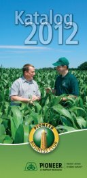 Katalog 2012 - DuPont Pioneer Hi-Bred International, Inc. - Pioneer
