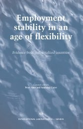 Employment stability in an age of flexibility: Evidence - World Bank