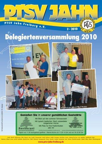 Sportler Des Jahres: Robert Sättele - PTSV Jahn Freiburg