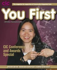 You First - Community Integrated Care