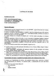 CAPITOLATO TECNICO - - Enit