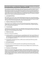 AGB Online Rechnung - E-Plus
