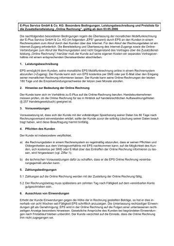E Plus Rechnung : rechnersystem magazine ~ Themetempest.com Abrechnung