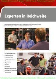 Experten in Reichweite - Fahrräder und Gartentechnik Wittstock in ...