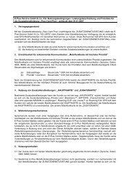 E-Plus Service GmbH & Co. KG: Nutzungsbedingungen ...