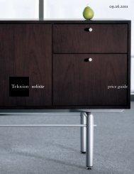 Solitar Price Guide - Teknion