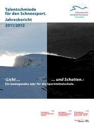 Jahresbericht Schuljahr 2011-2012 - Sportmittelschule Engelberg