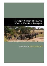 Tarangire Conservation Area - East African Safari and Touring ...
