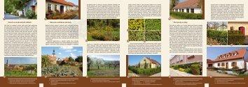 Živé ploty a stěny Okrasné a užitkové zahrady Zeleň ve venkovských ...