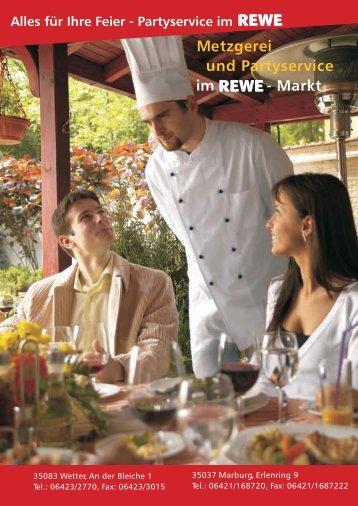 REWE partyservice mr und wetter - REWE Marburg