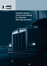 Integrated systems Services and solutions for optimising after ... - ESG