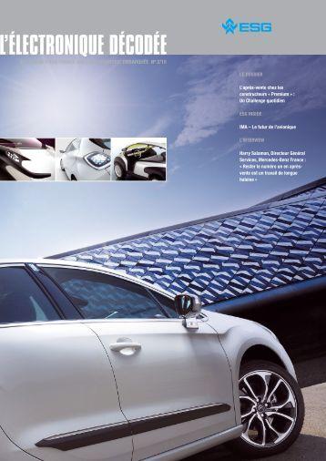 L'électronique décodee »: Éclairage d'ESG France sur