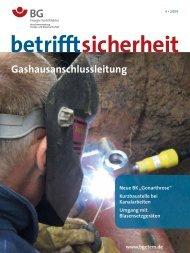Gashausanschlussleitung - BG ETEM B-EW