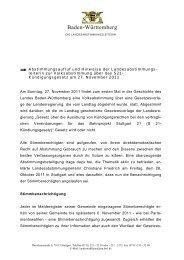 Vorlage Pressemitteilung - Gemeinde Elztal