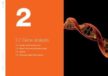 2.7 Gene analysis - Eurogentec