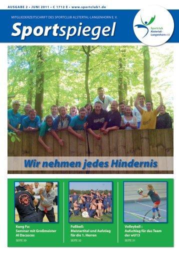 Sportspiegel 02 - SC Alstertal Langenhorn
