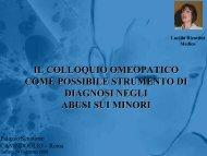 Presentazione - LucillaRicottini.it