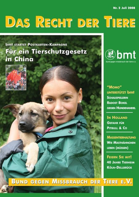 RDT 2/2008 - Bund gegen Missbrauch der Tiere ev