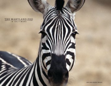 2005-2006 ANNUAL REPORT - The Maryland Zoo in Baltimore
