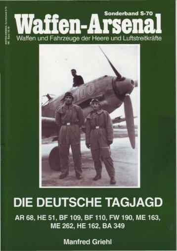 Waffen Arsenal So70 - Die Deutsche Tagjagd