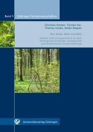 Der Wald-Wild-Konflikt - Oapen