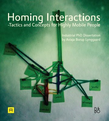 -Tactics and Concepts for Highly Mobile People