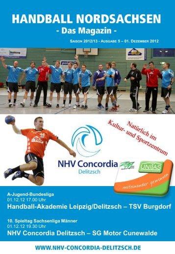 5. Heimspiel gegen SG Motor Cunewalde & JBL - NHV Concordia ...