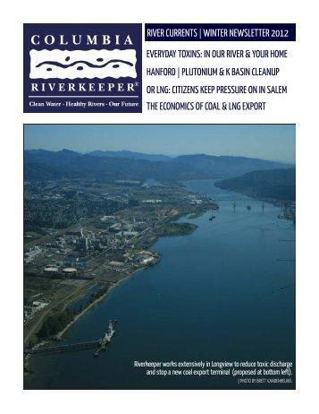 Winter Newsletter 2012 - Columbia Riverkeeper