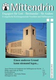 Gemeindebrief 2012-03 - Evang.-luth. Kirchengemeinde Neufahrn ...