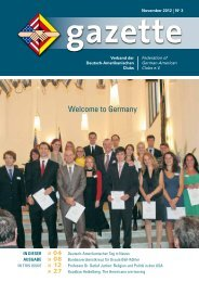 VDAC-Gazette - Initiative junger Transatlantiker