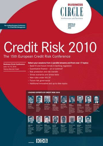Credit Risk 2010 - Christian Bluhm