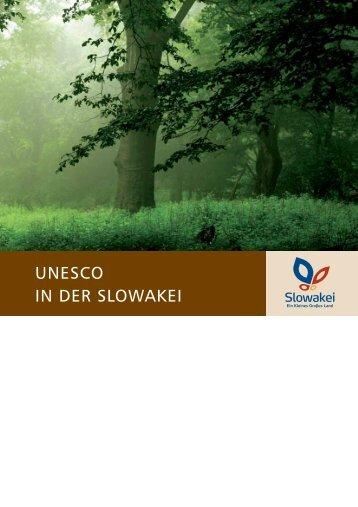 UNESCO IN DER SLOWAKEI - SACR